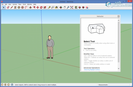 SketchUp Make Screenshot3