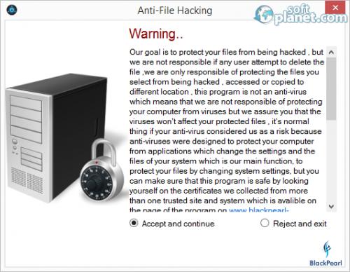 Anti-File Hacking Screenshot3