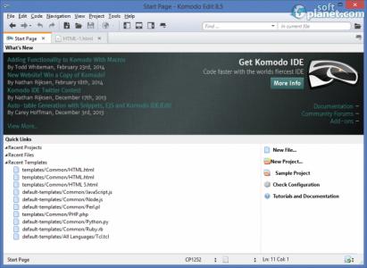Komodo Edit Screenshot2