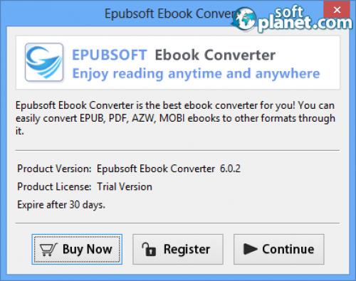 Epubsoft Ebook Converter Screenshot4