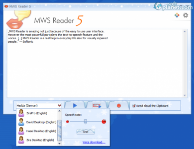 MWS Reader Screenshot2