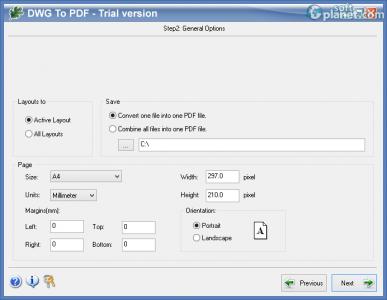 Oakdoc DWG to PDF Converter Screenshot2