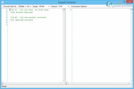 VB.NET to C# Converter Screenshot3
