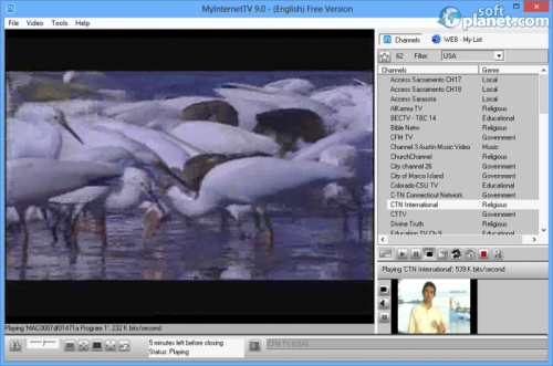 MyInternetTV Screenshot4