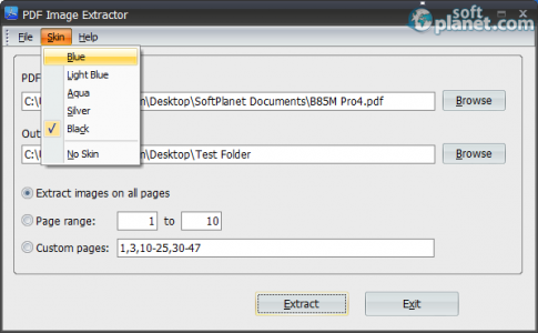 PDF Image Extractor Free Screenshot3