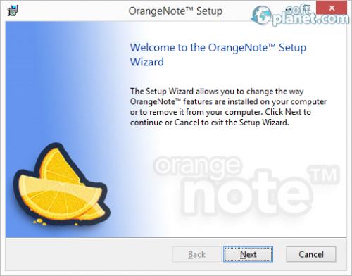 OrangeNote Screenshot3