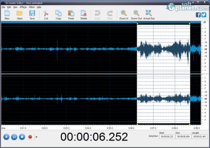 DJ Audio Editor Screenshot3