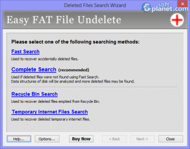 Easy FAT File Undelete Screenshot4