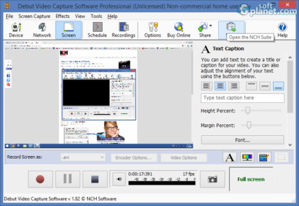 Debut Video Capture Software Pro Screenshot3