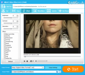 GiliSoft Video Editor Screenshot4
