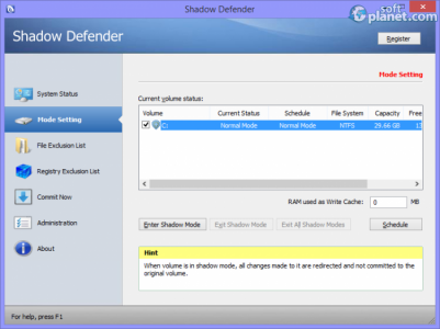 Shadow Defender Screenshot2
