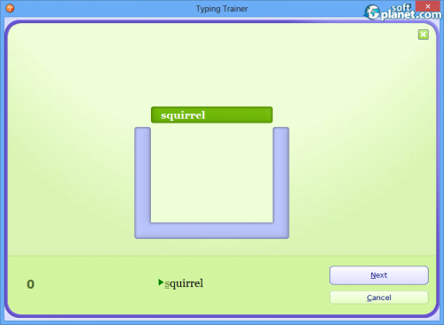 Typing Trainer Screenshot2