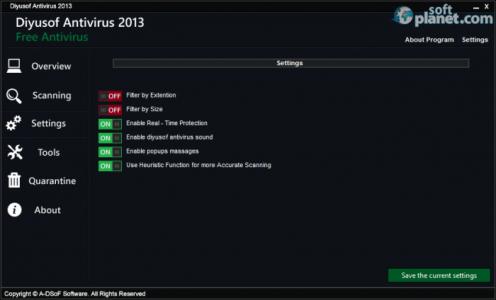 Diyusof Antivirus 2013 Screenshot4