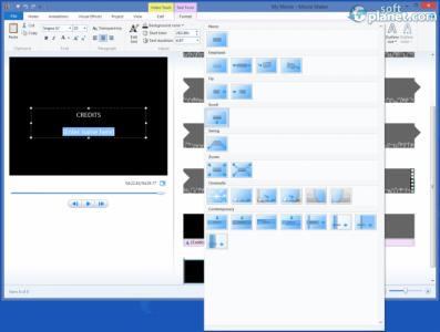 Windows Movie Maker Screenshot4