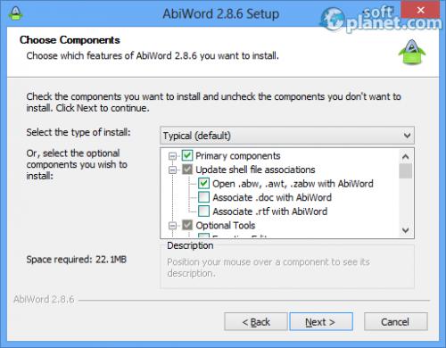 AbiWord Screenshot2