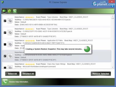 PC Cleaner Express Screenshot5