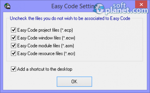 Easy Code for MASM Screenshot4