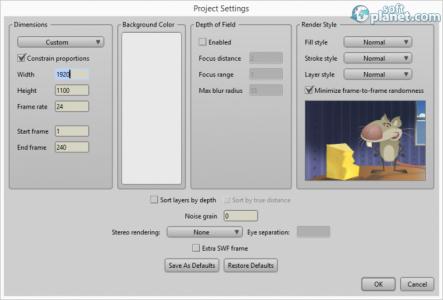 Anime Studio Pro Screenshot5