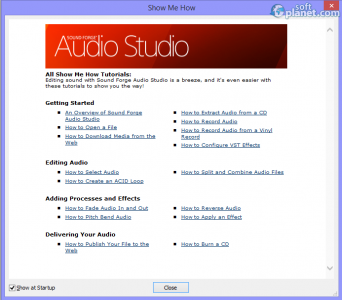 Sound Forge Audio Studio Screenshot5