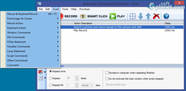 Automatic Mouse and Keyboard Screenshot3