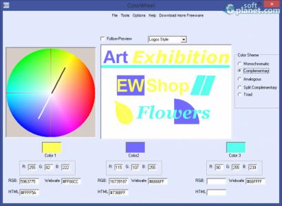 Free Colorwheel Screenshot4