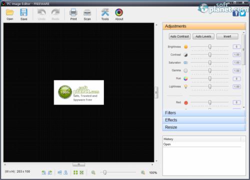 PC Image Editor Screenshot2