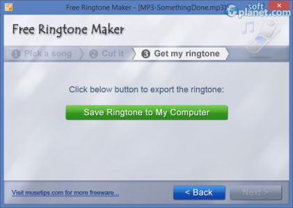 Free Ringtone Maker Screenshot3