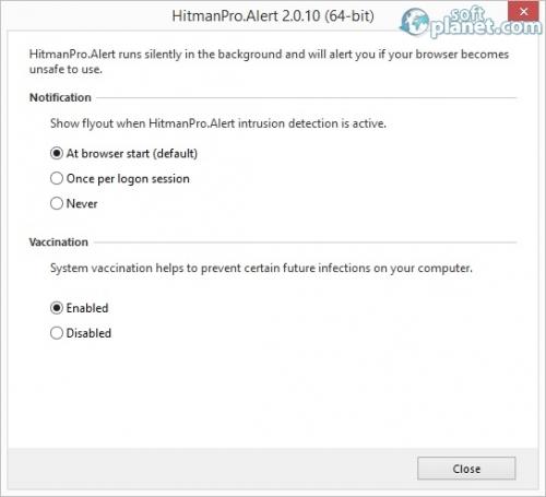 HitmanPro Alert Screenshot2