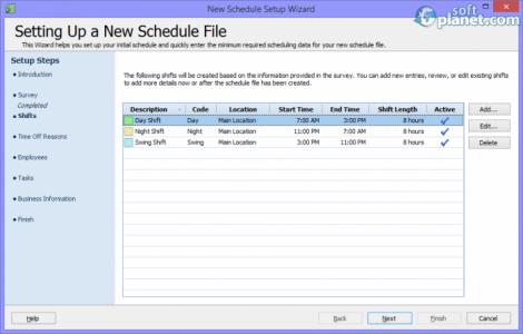 Snap Schedule 2013 Screenshot4