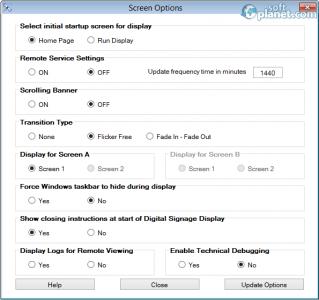 doPublicity Digital Signage Manager Screenshot2
