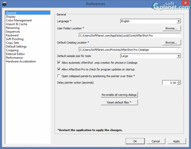 Corel Aftershot Pro Screenshot2
