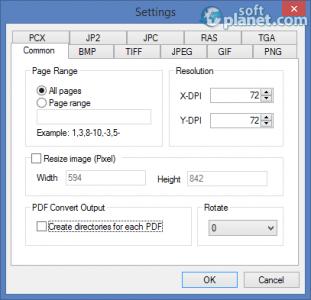 Mgosoft PDF To IMAGE Converter Screenshot2