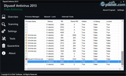 Diyusof Antivirus 2013 Screenshot3