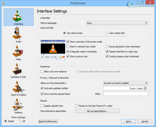 VLC Media Player Screenshot5