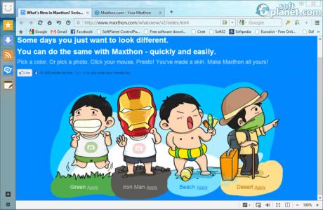 Maxthon Cloud Browser Screenshot2