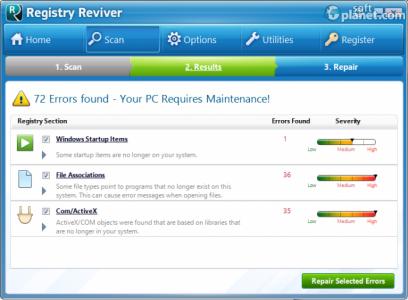 Registry Reviver Screenshot3