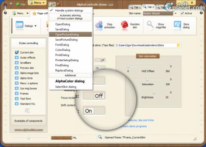 AlphaControls Screenshot3