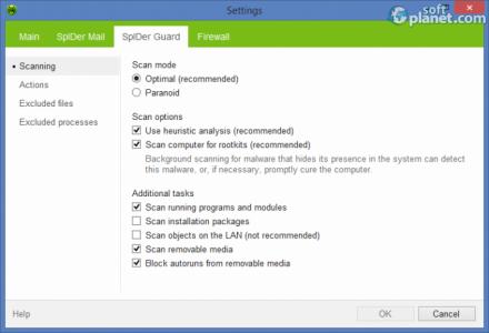Dr. WEB Anti-Virus Screenshot4
