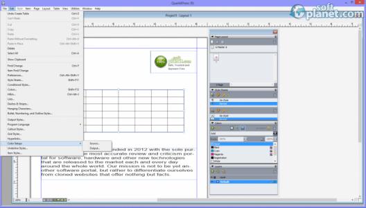 QuarkXPress Screenshot2