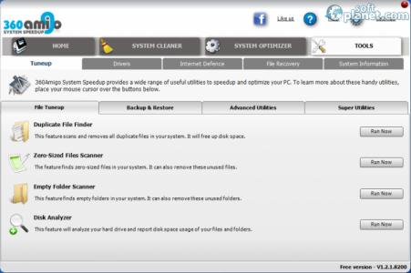360Amigo System Speedup Free Screenshot4