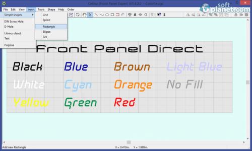 Cetina Frontpanel Designer Screenshot2