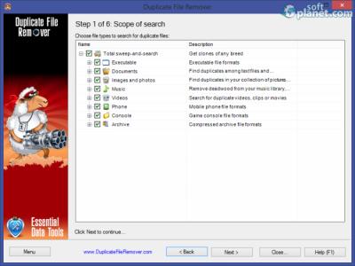 Duplicate File Remover Screenshot2