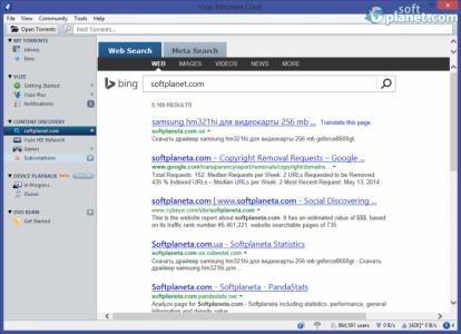 Vuze Bittorrent Client Screenshot4