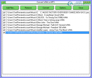 WMA To MP3 Converter Screenshot3