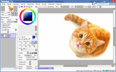 PaintTool SAI Screenshot3