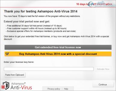 Ashampoo Anti-Virus 2014 Screenshot5