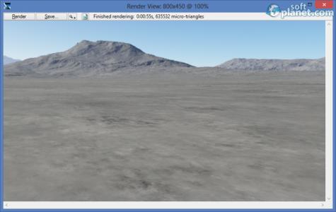 Terragen 3 Benchmark Screenshot4