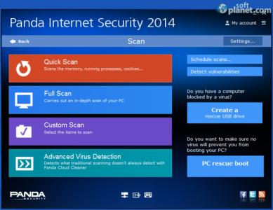 Panda Internet Security Screenshot2