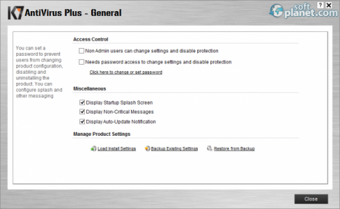 K7 Antivirus Plus Screenshot5