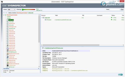 ESET SysInspector Screenshot2